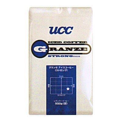 (単品)UCC 業務用 グランゼ ストロング アイスコーヒー(豆)AP500g