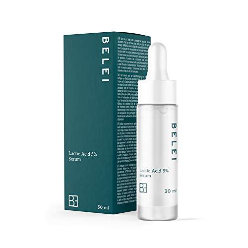 Amazon Marke: Belei - 5%-ige Milchsäure Serum, 94.8% natürlichen Inhaltsstoffen, für Veganer, 30 ml