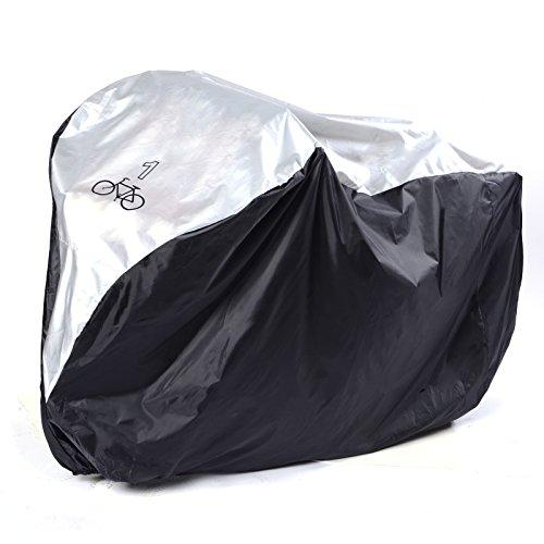 SurePromise One Stop Solution for Sourcing Funda de Bicicleta Funda Protector de Polyester Cubierta con Bolsillo Impermeable 200 x 105 x 110 cm para Bicicleta Motocicleta