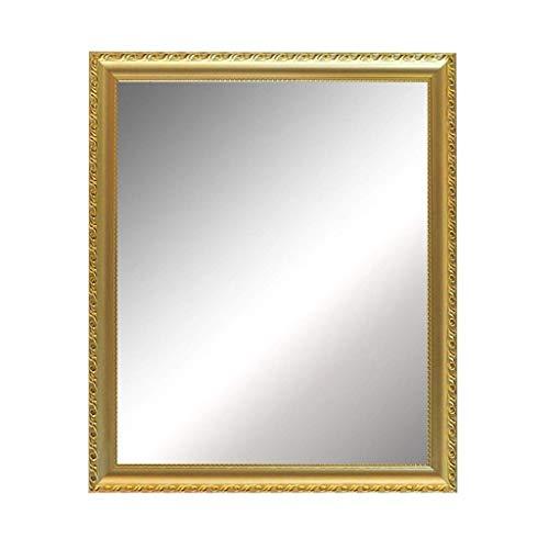 Kreativer Schminkspiegel Badezimmerspiegel, Fashion Home Hotel Badezimmer Badezimmer Retro Rechteckiger Hochrahmenspiegel Waschbecken Hängende Dekoration Großer Spiegel Eingang Dekorativer Spiegel