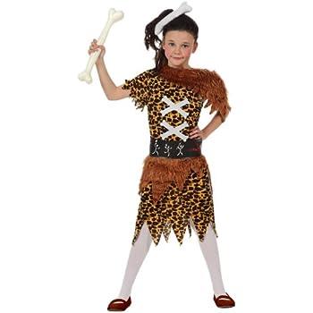 Atosa - Disfraz de cavernícola para niña, talla 5-6 años (10684 ...