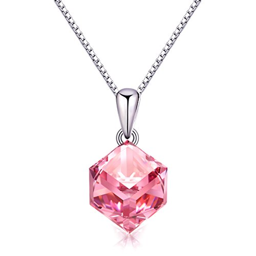 pink crystal necklace - 6