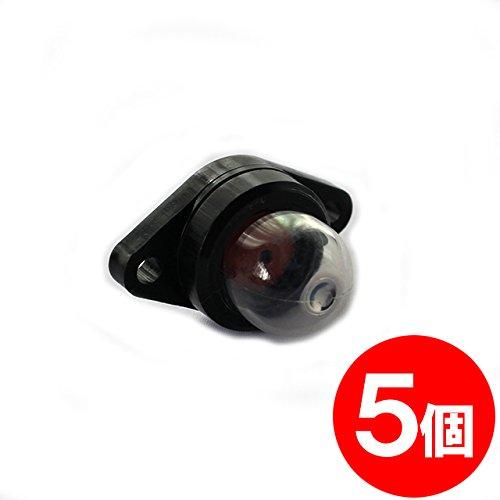 【FocusOne】5個 ワルボロ製 キャブレター用 プライマリーポンプ WPV07 互換品 【刈払機・草刈機・ブロワーなどに】