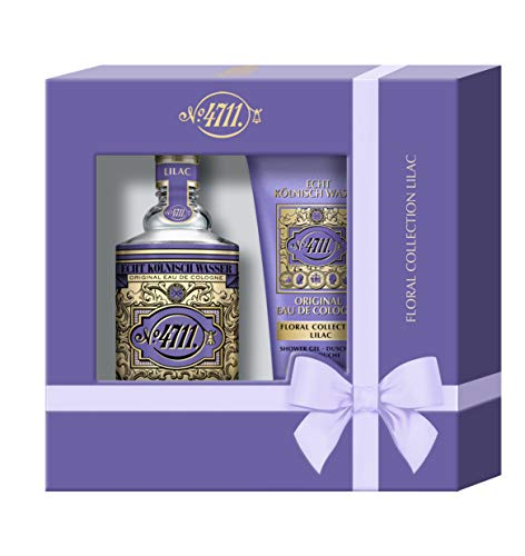 Mäurer & Wirtz 4711 echt kölnisch wasser floral collection i flieder i duo set - eau de cologne natural spray 100 ml und shower gel 50 ml