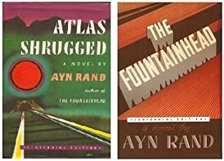 Atlas Shrugged & The Fountainhead (Centennial Edition) [Atlas Shrugged & Fountainhead] by Ayn Rand (Atlas Shrugged & The Fountainhead 2 Book set)