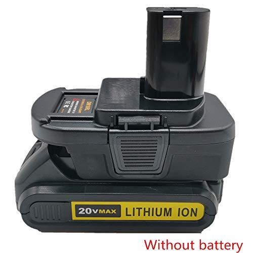 DM18RL Battery Adapter for Milwaukee for Dewalt 20V/18V Lithium Battery Convert to for Ryobi 18V ABP1801 P108 Battery