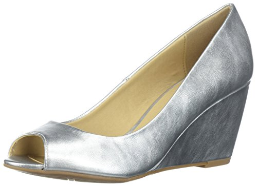 CL by Chinese Laundry Women's Noreen Pump, Silver/Metallic, 7.5 M US
