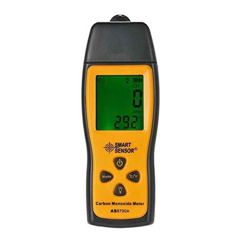 Bodbii SMART SENSOR AS8700A Hand Kohlenmonoxid-Messgerät High Precision Digital-CO-Lecksucher Analyzer Bereich 1000ppm