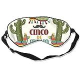 Eye Masks, Adjustable Strap Sleep Cover Mask Breathable Blindfold Cinco-De-Mayo_23-2148104873