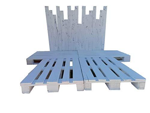 Estructura de Cama de palets - Somier de palets de 90 105 120 135 150 160 180 200