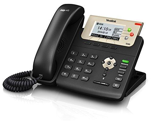 Yealink SIP-T23G Téléphone IP Noir