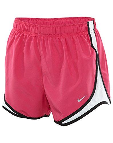 Nike Women's Dri-fit Tempo Track 3.5 Short (Vivid Pink/White/Black/Wolf Grey, Small)
