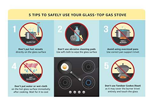Elica Glass 3 Burner Auto Ignition Gas Stove (Patio ICT 773 Org AI)