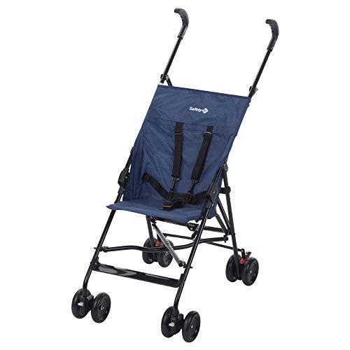 Safety 1st Peps Buggy, wendiger Kinderwagen nutzbar ab 6 Monate bis max. 15 kg, kompakt zusammenfaltbar, mit Feststellbremse und 5-Punkt-Gurt, Leichtgewicht mit nur 4,5 kg, baleine blue chic