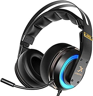 Generic Xiberia T19 Gaming Headphone Active Noise Cancelling Mic LED Light Stereo Gaming Headset with Mic