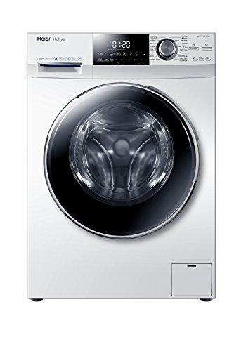 Haier HW100-BD14756 Waschmaschine FL Smart Dosing / A+++ / 98 kWh/Jahr / 1400 UpM / 10 kg / Vollwasserschutz / Smart Dual Spray [Energieklasse A+++]