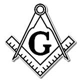 AK Wall Art Masonic Freemason Compass Vinyl Sticker - Car Window Bumper Laptop - Select Size