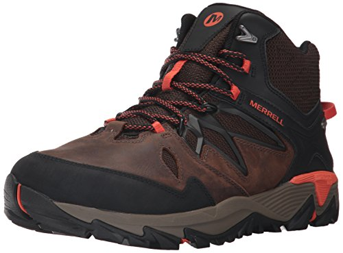 Merrell Men's All Out Blaze 2 Mid Waterproof Hiking Boot, Black, 10 M...