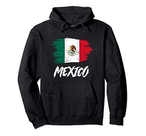 Mexico Flagge Mexiko Fahne Urlaub Geschenk Pullover Hoodie