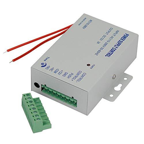 YAVIS 3A 110-240VAC a 12VDC Control de Fuente de alimentación para Sistema de Control de Acceso de Puerta/Sistema de intercomunicador de vídeo en Todo el Mundo