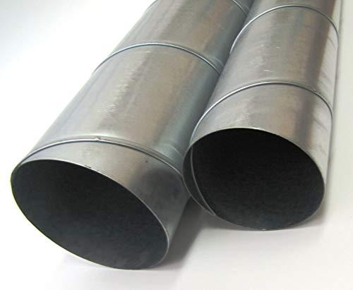 Conducto en espiral, tubo de ventilación de 100 hasta 355 mm, longitud 1000 mm (Ø 250 mm)