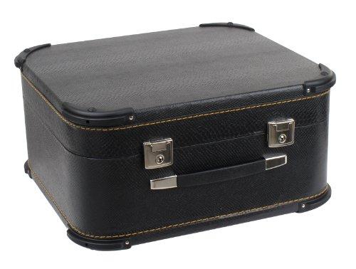 Alpenklang Luxus Akkordeon & Harmonika Koffer (Tragekoffer für 48-Bass Akkordeons oder 4-Reihige Harmonikas, Holzkern, Kunstlederbezug)