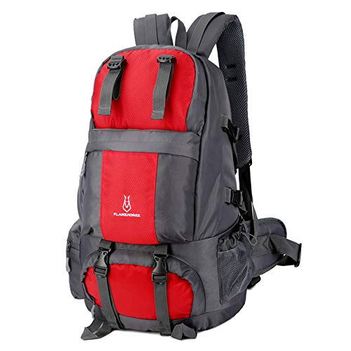 Lixada Wanderrucksack 50L Wasserdicht Trekkingrucksäcke mit Schuhfach zum Klettern Camping Bergsteigen