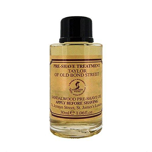 Taylor of Old Bond Street 30ml Sandalwood Pre Shave Oil