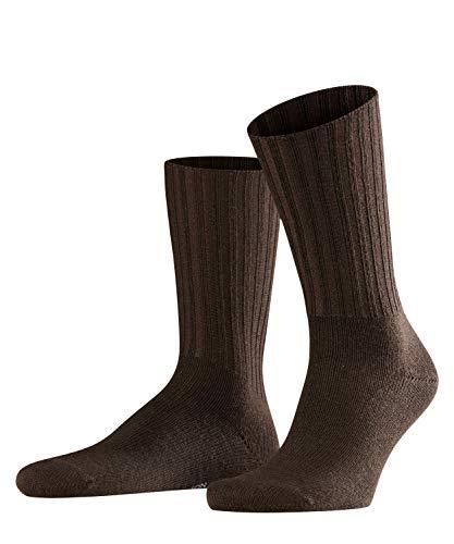 FALKE Herren Socken Nelson - Merinowollmischung, 1 Paar, Braun (Brown 5930), Größe: 43-46