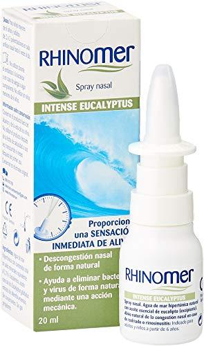 Rhinomer Spray Nasal Descongestionante Intenso Eucalipto - 20 ml