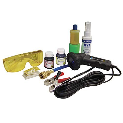 MASTERCOOL (53351-B Professional UV Leak Detector Kit with 50W Mini Light