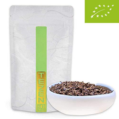 Houjicha Bio Tee: gerösteter Grüner Bio Tee aus Japan | Hochwertiger japanischer Bio Grüntee, traditionell geröstet (100 g)