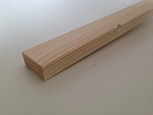 Amico Legno Listelli Abete piallati e spigolati - 2 x 4,5 x 200 cm (Pz 10)
