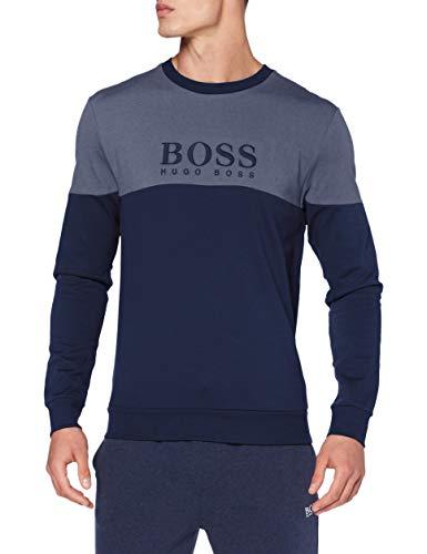 BOSS Herren Tracksuit Sweatshirt, Dark Blue402, L