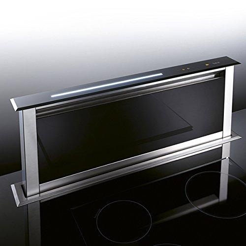 Best Dunstabzugshaube Lift Glas Schwarz 90 EM