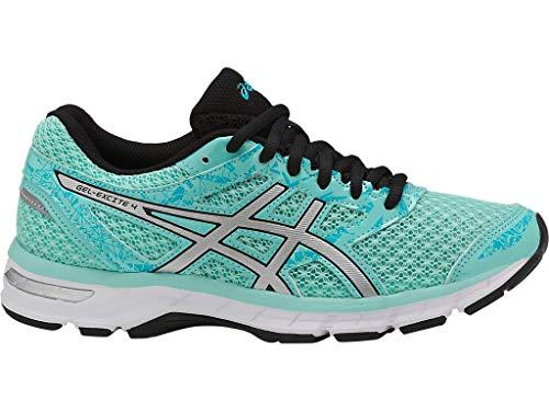ASICS Women's Gel-Excite 4 Running Shoes, 9M, Aruba Blue/Silver/Aquarium