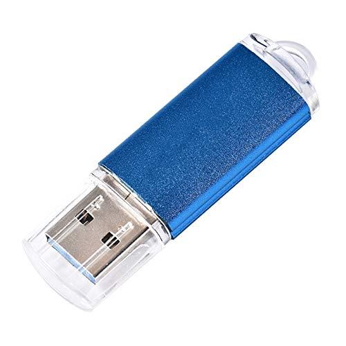 Memoria USB Logotipo Personalizado de la Unidad Flash USB 32GB 64GB 128GB USB 2.0 Tarjeta de Memoria de la Unidad Flash (Capacity : 128GB, Color : B)