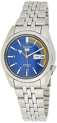 Seiko Reloj Analógico Automático para Hombre con Correa de Acero Inoxidable – SNK371K1