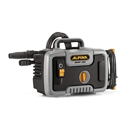 Alpina Idropulitrice Elettrica AHP 110, 1400 W, Nero/Grigio, 110 Bar, 390 l/h