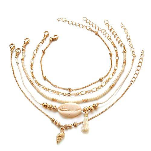 Oro Rosa Juego de Regalo para Mujeres y ni/ñas Nowbetter Pendientes y Collar de Joyas Accesorios de San Valent/ín Collar Elegante de Cristal para Novia