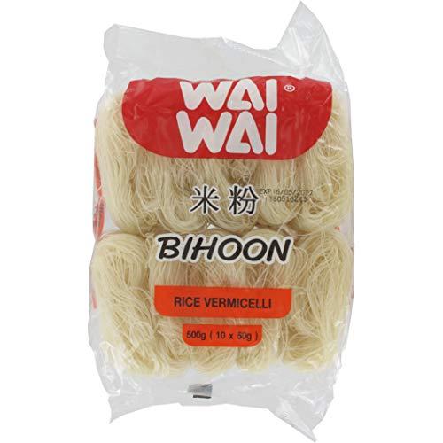 Wai Wai Thailand Bihoon Rice Vermicelli, 500 Gramos