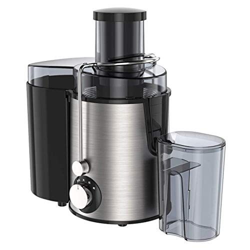 Juicer, Home Multi-Function Large Diameter Juicer, Fully Automatic Portable Fruit And Vegetable Separation Juice Machine -280w, Stainless Steel