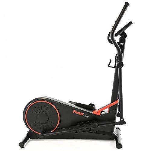 Fuel Fitness CT500 Crosstrainer, Premium Crosstrainer-Stepper für zuhause, Nutzergewicht bis 150kg, 15 Trainingsprogramme, App-Anbindung, KINOMAP-kompatibel. 3-Schritte-Montage