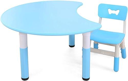 Obtén lo ultimo Folding table and chair Juego De De De Mesa Y Silla para Niños, Elevador De Casa, Mesa De Madera De Aprendizaje, Mesa De Juegos De Juguetes para BebéS  hermoso