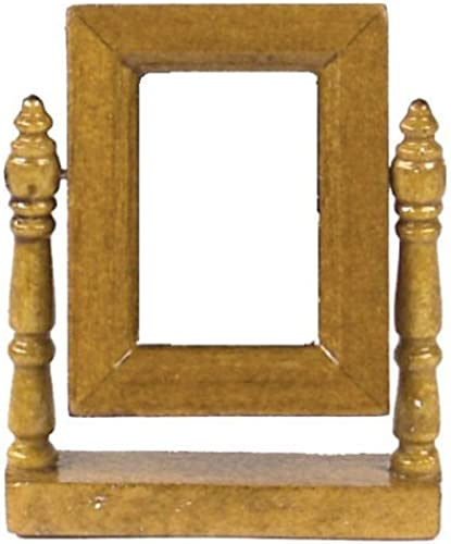 Dollhouse Miniature The Lincoln Dresser Mirror by  Aztec Imports, Inc.