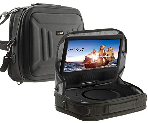 Navitech Portable DVD Player Headrest Car Mount / Carry Case Compatible With The FUNAVO 7' | FUNAVO 7.5' | FUNAVO 9' | FUNAVO 9.5' | FUNAVO 10.5'