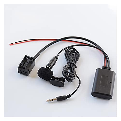 zhuzhu Bluetooth AUX AUD Audio Adaptador + Mic Ajuste para Opel Astra TIGRA 2004-09 Zafira 2005-11 CD