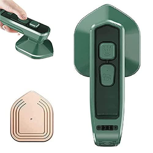 SHIYU Micro Plancha de Vapor Profesional, inalámbrica, de Mano, Plancha de Vapor doméstica, Plegable, Mini máquina de Planchar portátil, para el hogar y los Viajes