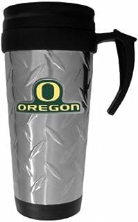 NCAA Oregon Ducks Deluxe Steel Travel Mug