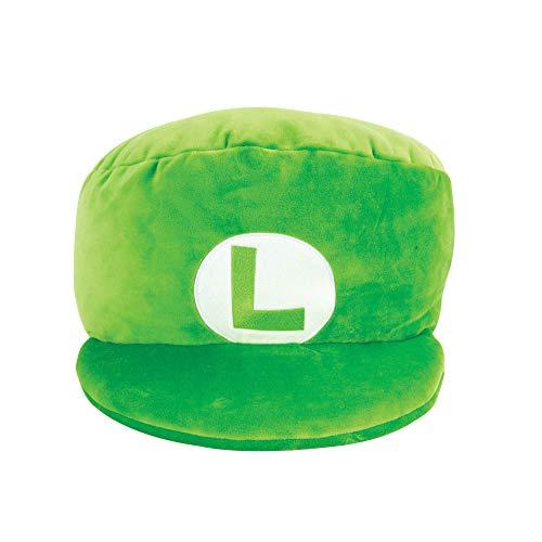 TOMY T12962 Mocchi Green Luigi Hat Plush 40 cm, Nintendo & Mario...